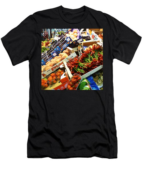 Farmers Market Florence Italy Men's T-Shirt (Athletic Fit)