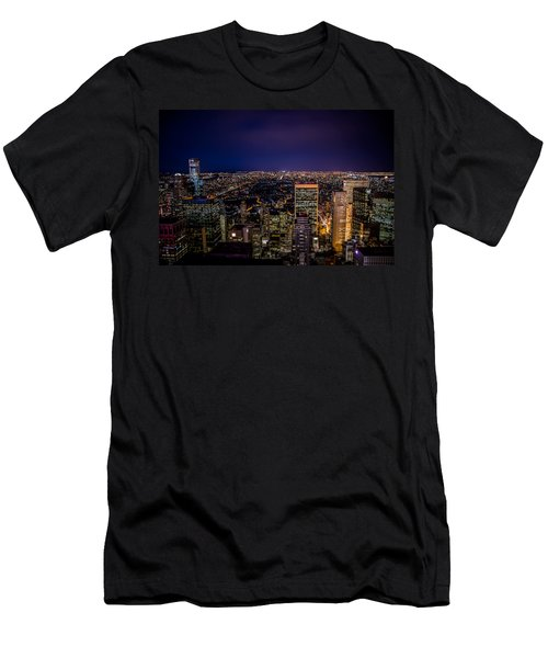 Field Of Lights And Magic Men's T-Shirt (Athletic Fit)