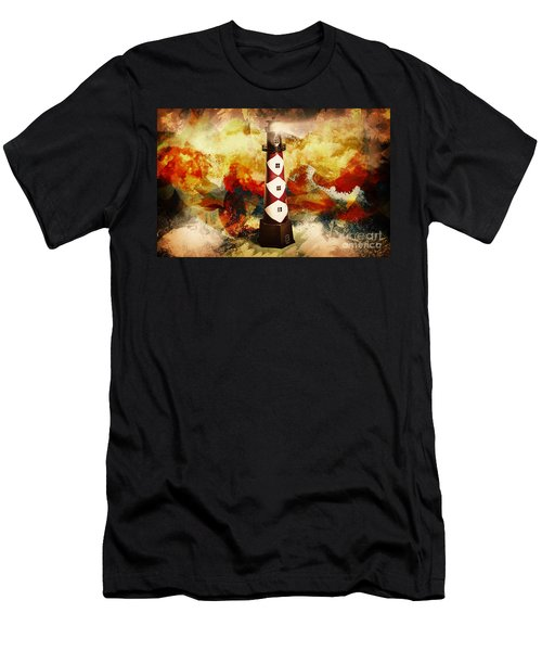Fire On Lighthouse Hill Men's T-Shirt (Athletic Fit)