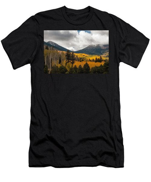 Flagstaff Fall Color Men's T-Shirt (Athletic Fit)