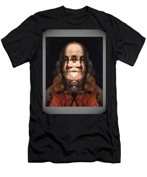 Flipped Ben 2 Men's T-Shirt (Athletic Fit)