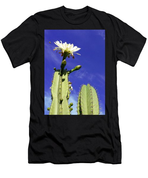 Flowering Cactus 2 Men's T-Shirt (Athletic Fit)