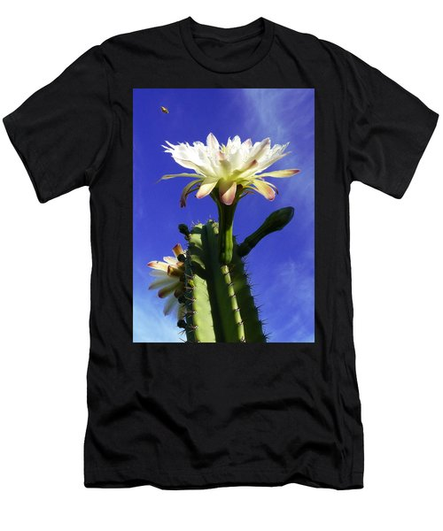 Flowering Cactus 3 Men's T-Shirt (Athletic Fit)