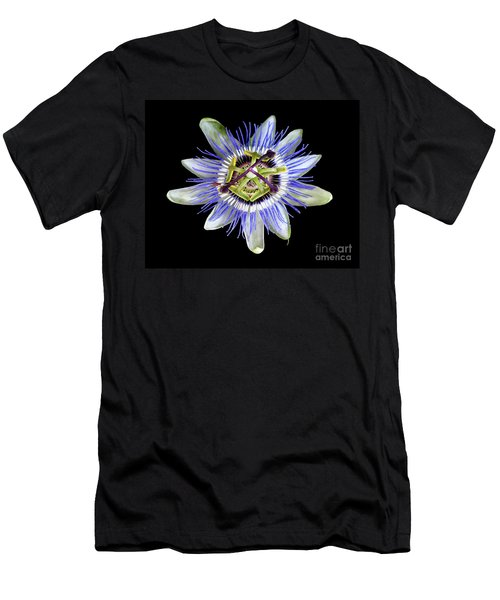 Men's T-Shirt (Slim Fit) featuring the photograph Fly's Passion by Jennie Breeze