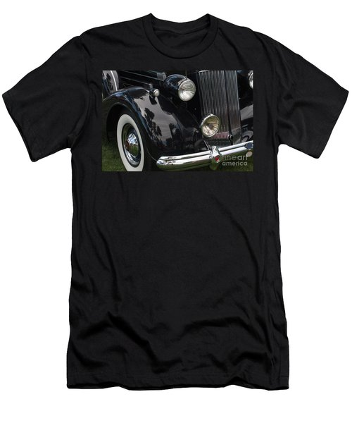 Men's T-Shirt (Slim Fit) featuring the photograph Front Side Of A Classic Car by Gunter Nezhoda