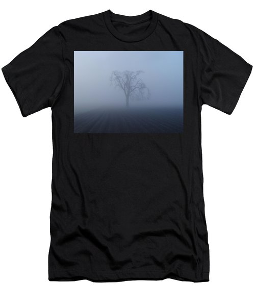 Garry Oak In Fog  Men's T-Shirt (Athletic Fit)