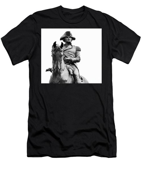 George Washington Statue Boston Ma Men's T-Shirt (Athletic Fit)