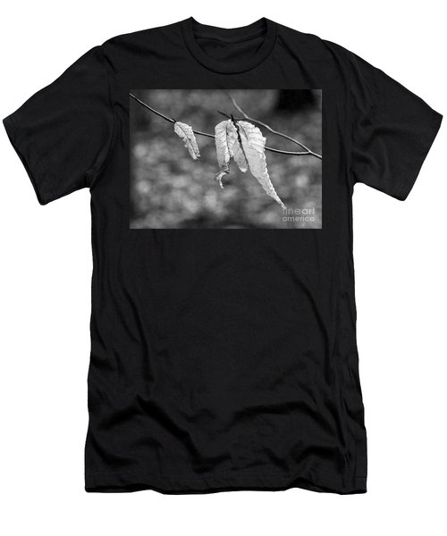 Ghost Leaves Men's T-Shirt (Athletic Fit)