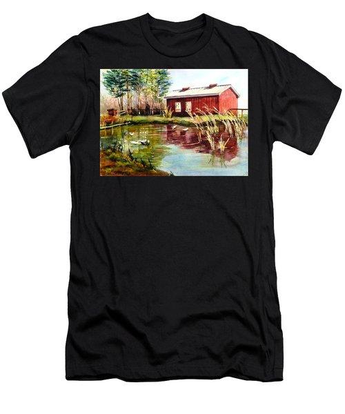 Green Acre Farm Men's T-Shirt (Athletic Fit)