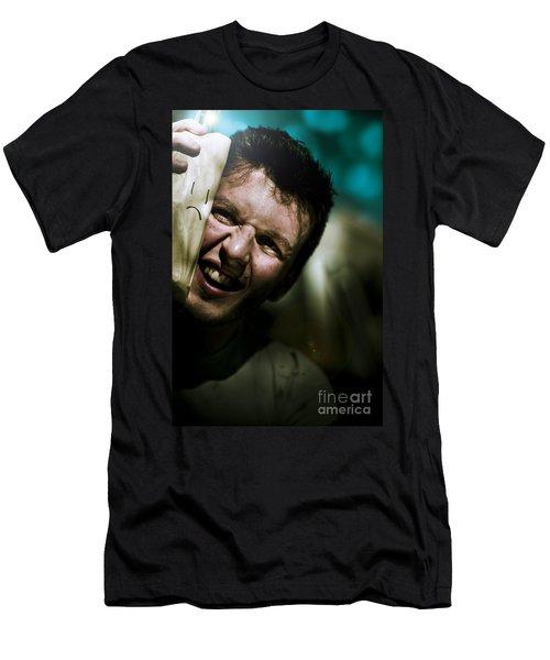 Happy Hobo Men's T-Shirt (Athletic Fit)