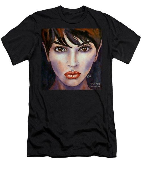 Heaven In Her Eyes Men's T-Shirt (Athletic Fit)