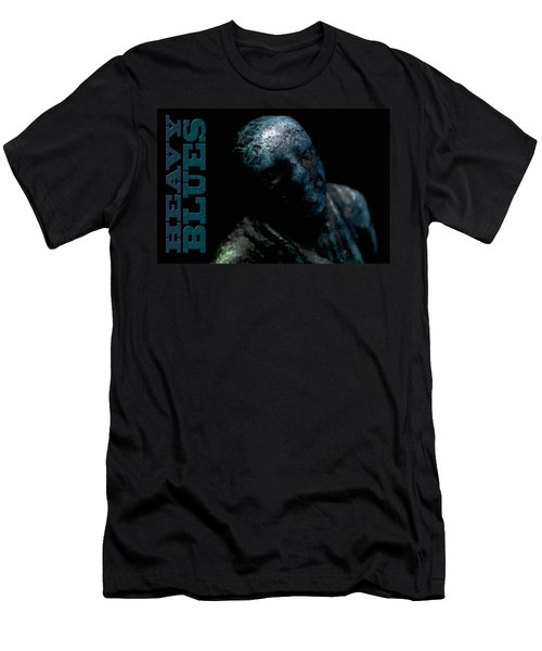 Men's T-Shirt (Slim Fit) featuring the photograph Heavy Blues by WB Johnston