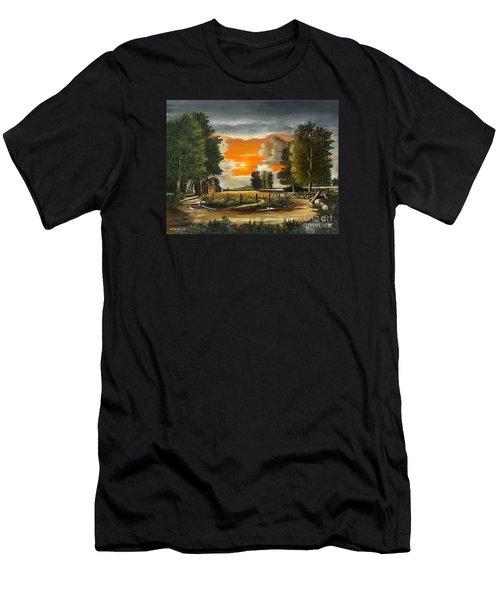 Hoggets Farm Men's T-Shirt (Athletic Fit)