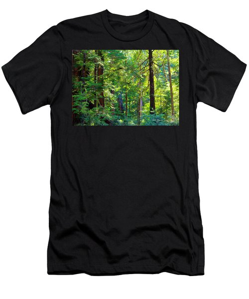 Hoh Rain Forest Men's T-Shirt (Athletic Fit)