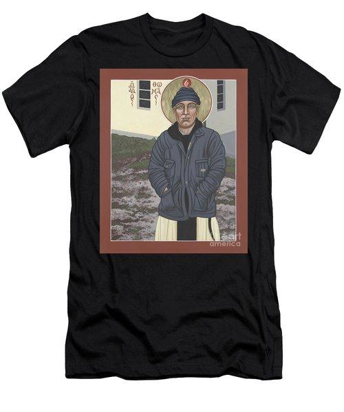 Holy World Evangelist Thomas Merton 267 Men's T-Shirt (Athletic Fit)