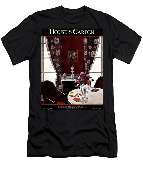 House And Garden Annual Building Number Cover Men's T-Shirt (Athletic Fit)
