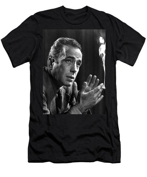 Humphrey Bogart Portrait 2 Karsh Photo Circa 1954-2014 Men's T-Shirt (Athletic Fit)