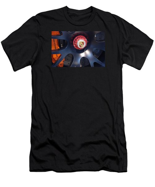 Hybrid Wheel  Men's T-Shirt (Athletic Fit)