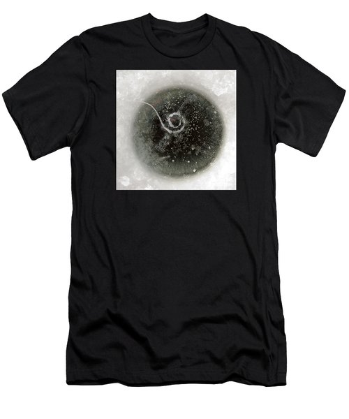 Ice Fishing Hole Men's T-Shirt (Athletic Fit)