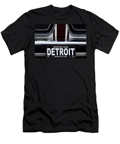 Imported From Detroit Men's T-Shirt (Athletic Fit)