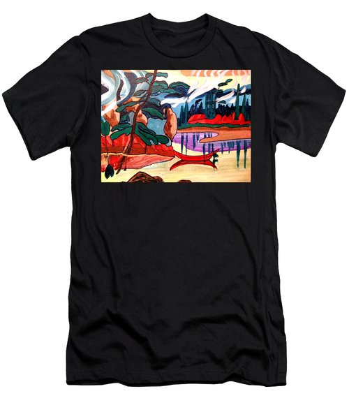 Island Fantasy Men's T-Shirt (Athletic Fit)
