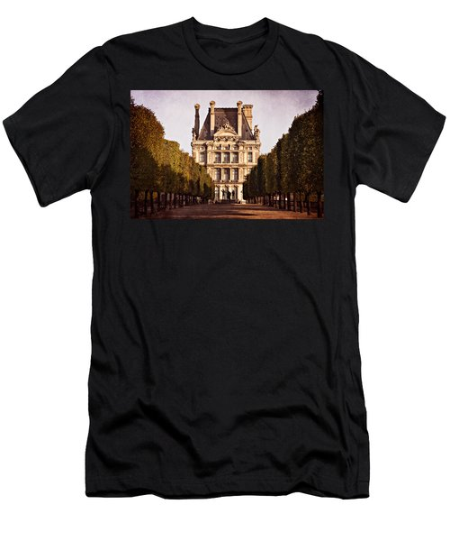 Jardin Des Tuileries / Paris Men's T-Shirt (Athletic Fit)