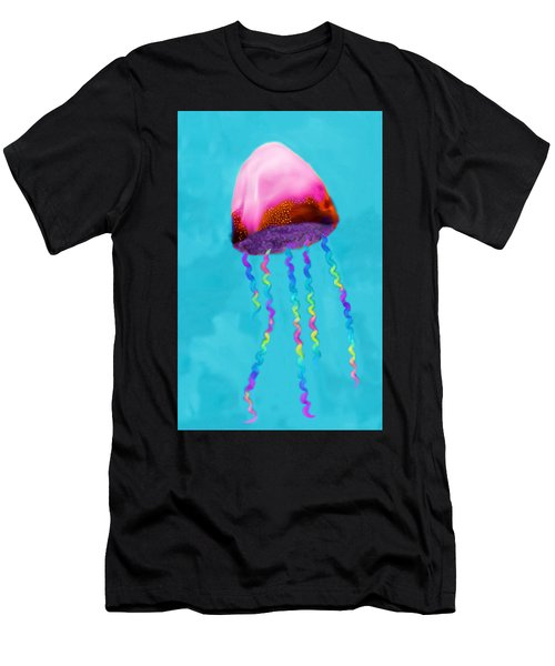 Jelly The Fish Men's T-Shirt (Athletic Fit)