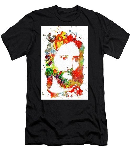 Christ  Men's T-Shirt (Athletic Fit)