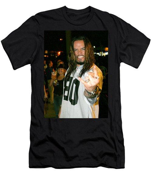 Josey Scott  Saliva Men's T-Shirt (Athletic Fit)