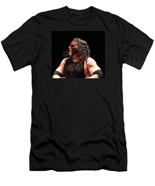 Kane The Wrestler Men's T-Shirt (Athletic Fit)