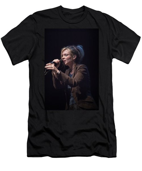 Karin Bergquist Lead Singer Of Over The Rhine Men's T-Shirt (Athletic Fit)