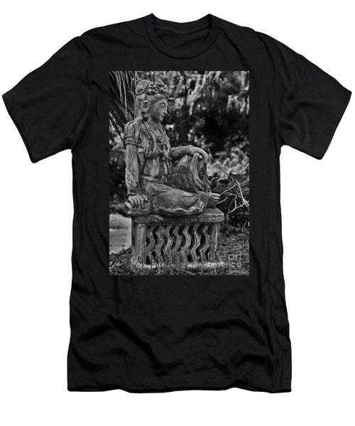 Kwan Yin Men's T-Shirt (Athletic Fit)