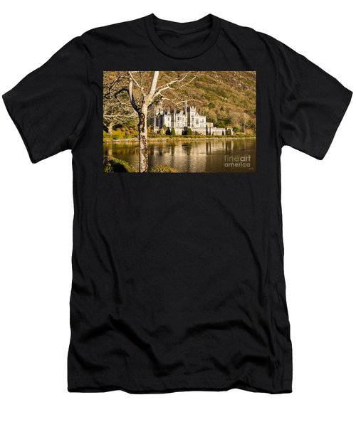 Kylemore Abbey In Winter Men's T-Shirt (Athletic Fit)