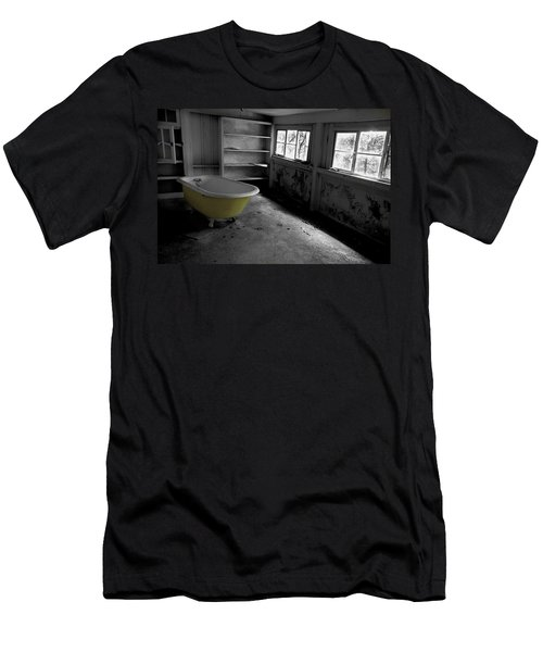 Left Behind Men's T-Shirt (Slim Fit) by Michael Eingle