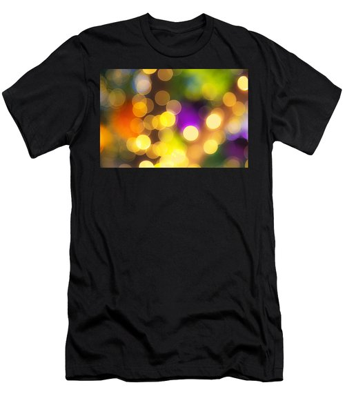 Light Circles Men's T-Shirt (Athletic Fit)