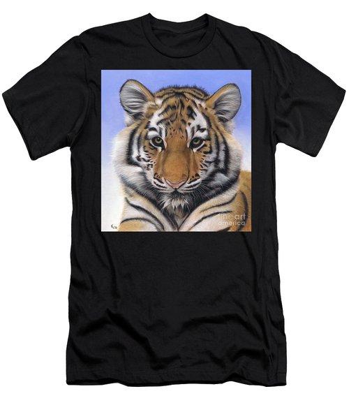 Little Big Cat Men's T-Shirt (Athletic Fit)