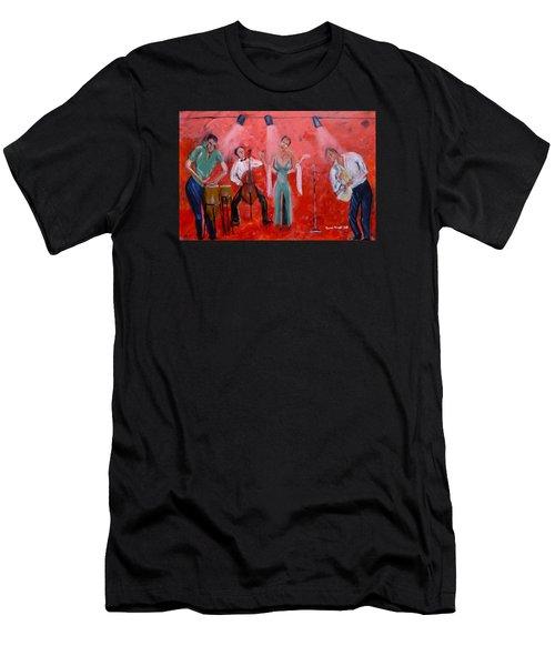Live Jazz Men's T-Shirt (Athletic Fit)