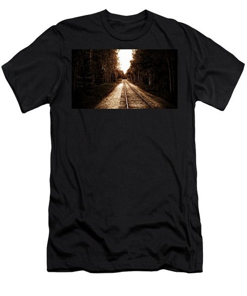 Lonely Railway Men's T-Shirt (Athletic Fit)