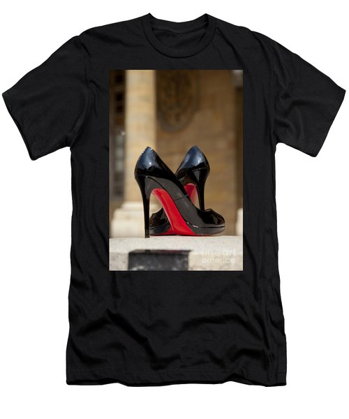 Men's T-Shirt (Athletic Fit) featuring the photograph Louboutin Heels by Brian Jannsen