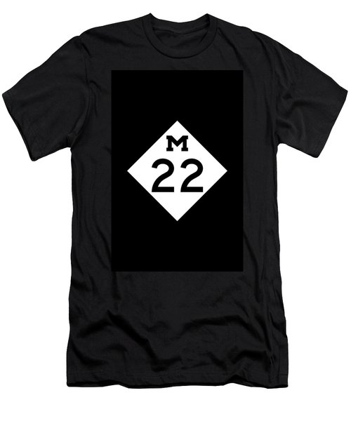 M 22 Men's T-Shirt (Athletic Fit)