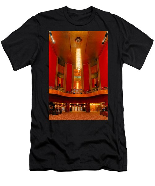 Main Lobby Radio City Music Hall Men's T-Shirt (Athletic Fit)