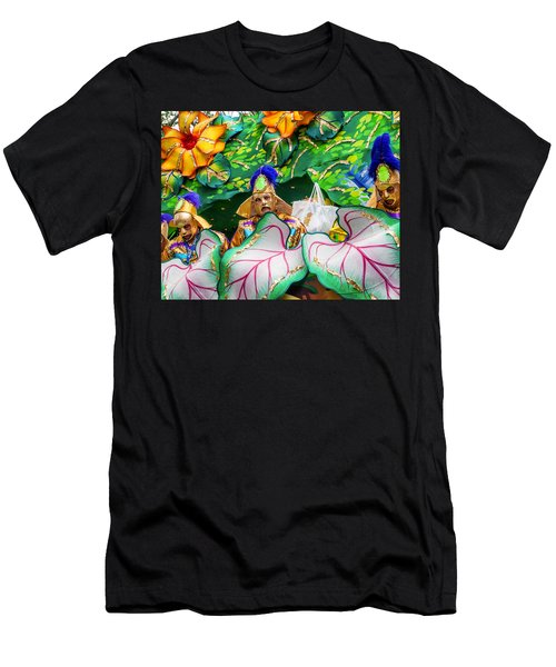 Mardi Gras Float Men's T-Shirt (Athletic Fit)