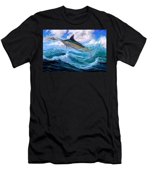 Marlin Low-flying Men's T-Shirt (Athletic Fit)