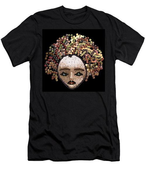 Medusa Bedazzled After Men's T-Shirt (Athletic Fit)