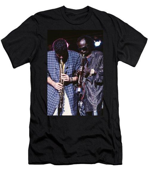 Miles Davis  Men's T-Shirt (Athletic Fit)