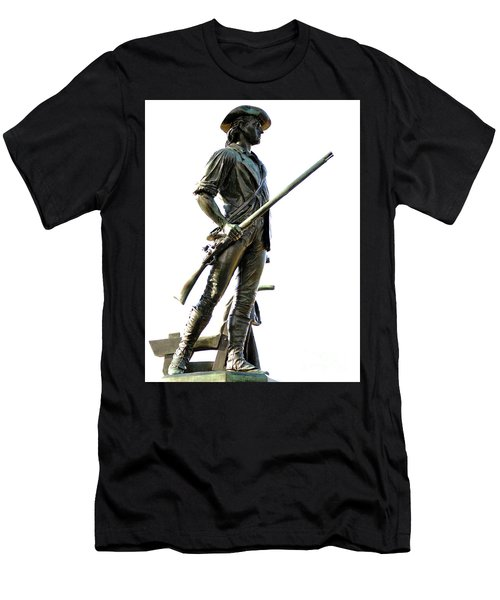 Minute Man Statue Concord Ma Men's T-Shirt (Athletic Fit)