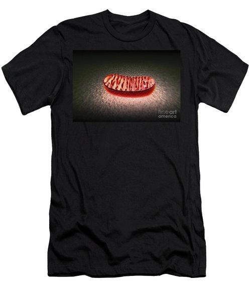 Mitochondria Cut Men's T-Shirt (Athletic Fit)
