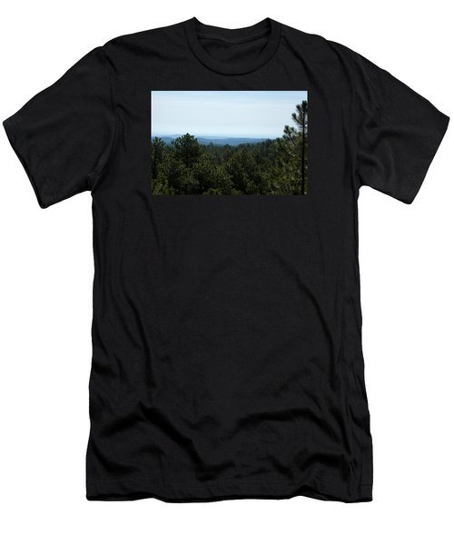 Mountains In The Distance Men's T-Shirt (Athletic Fit)