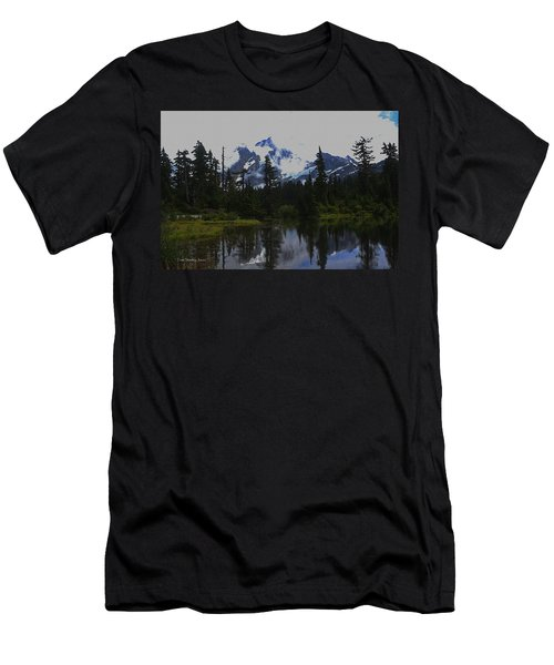 Mt Baker Washington  Men's T-Shirt (Athletic Fit)