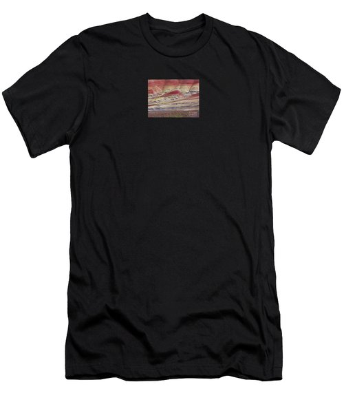 John Day Fossil Beds Painted Hills Men's T-Shirt (Athletic Fit)